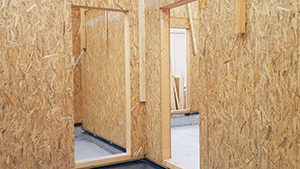 casa legno telaio