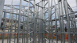 casa acciaio steel frame