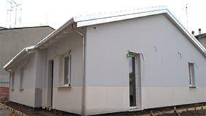 casa in legno telaio
